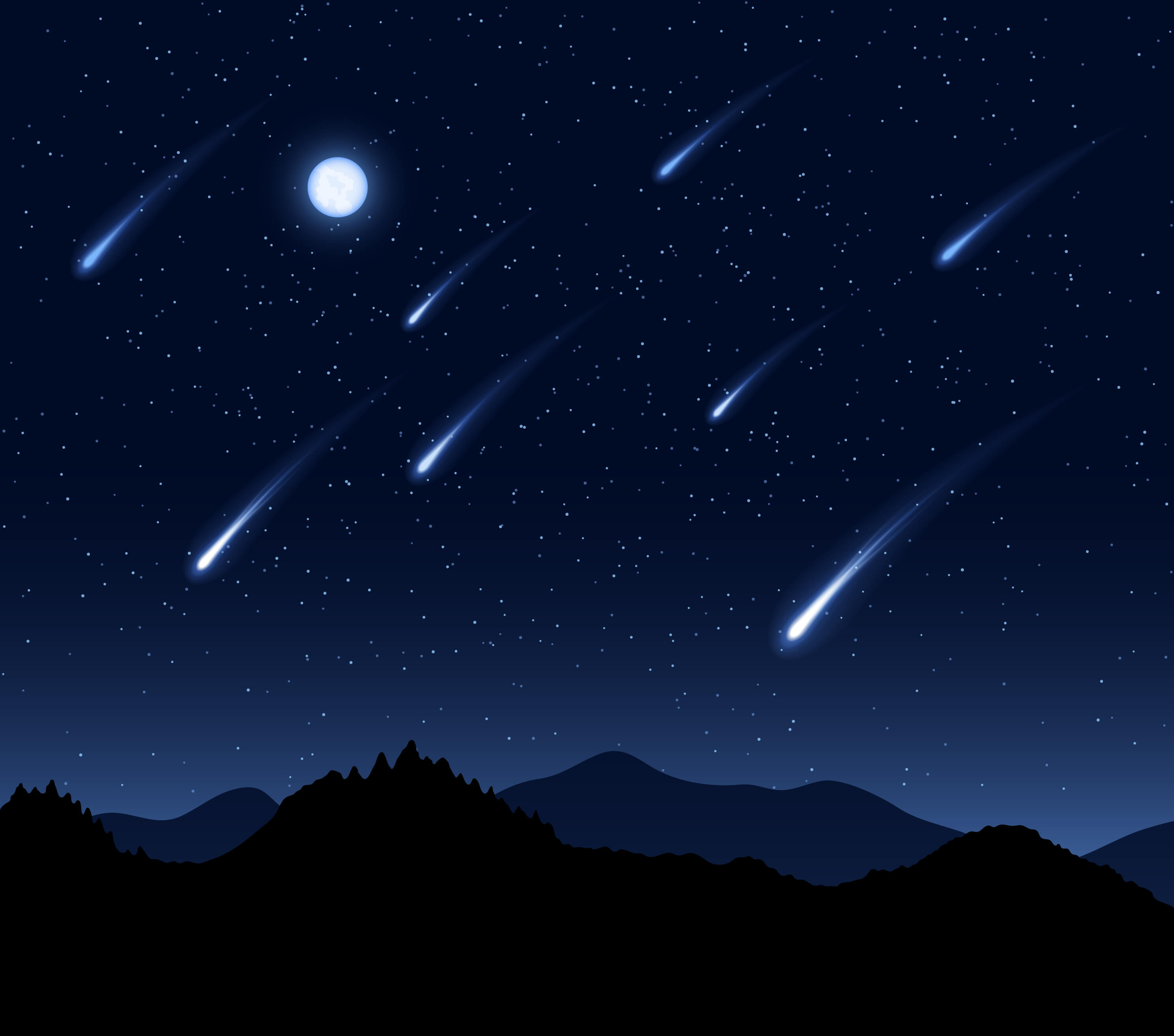 gmat meteor stream