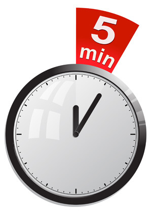 gre 5 minutes
