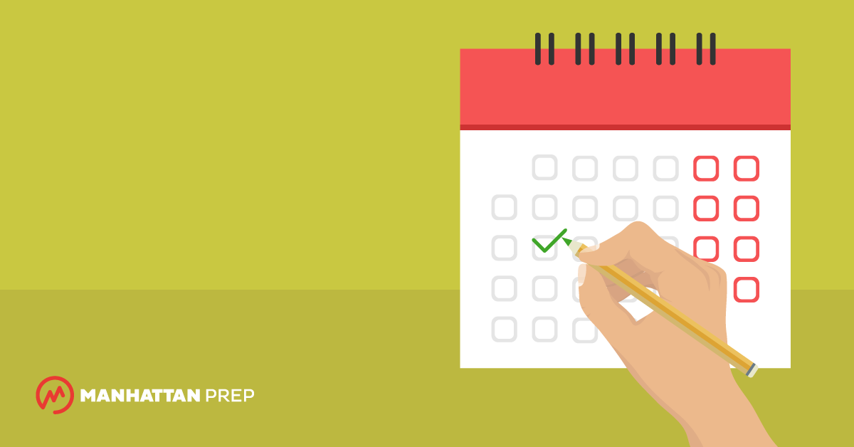 Manhattan Prep GRE Blog - Your GRE Study Calendar by Chelsey Cooley