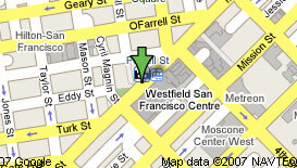 Map to San Francisco Manhattan GMAT Center
