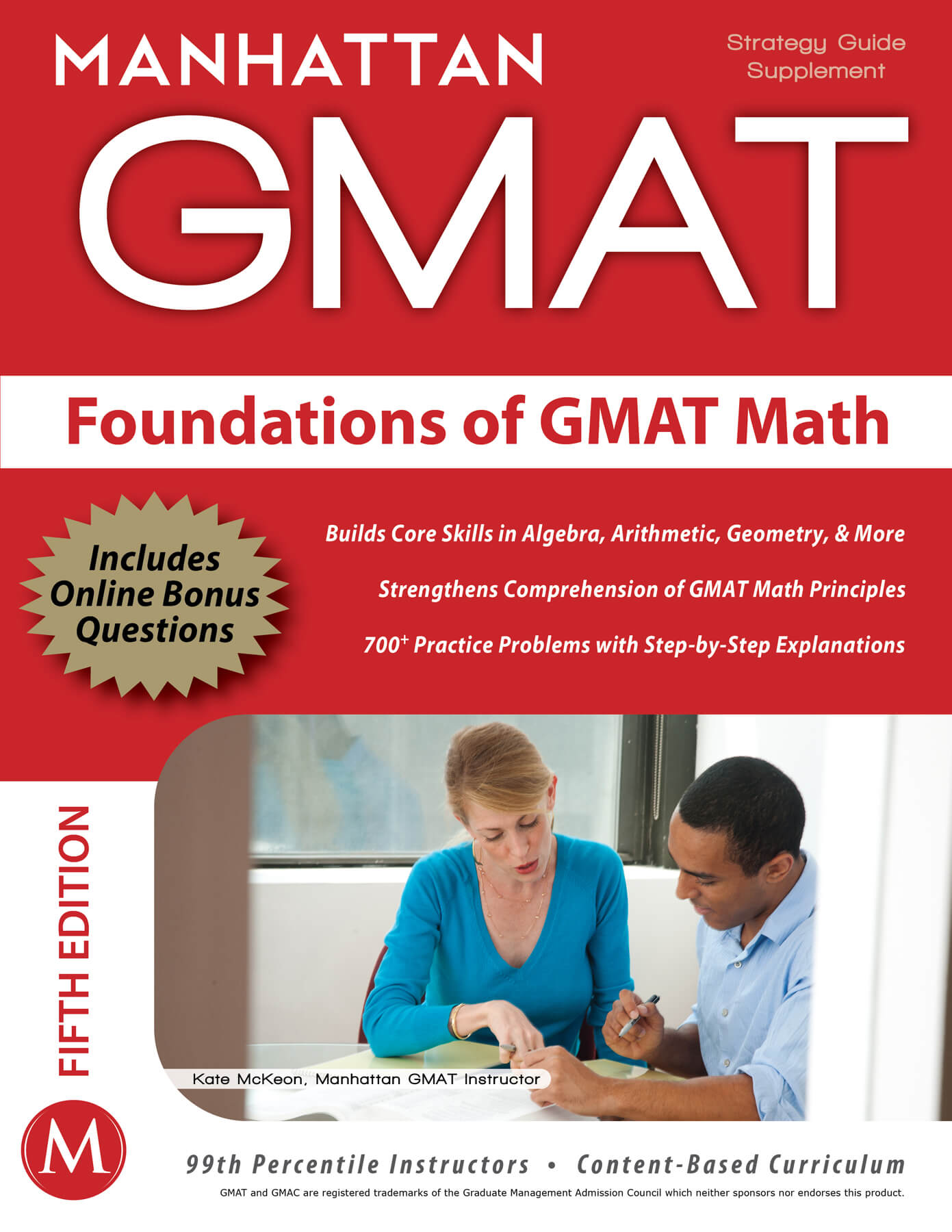 Foundations of GMAT Math cover