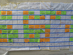 Original Schedule/Timeline photo by Peter Kaminski on Flickr