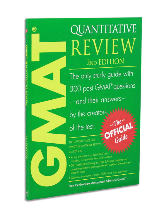 Official Guide for GMAT Quantitative Reivew,  2nd Ed.