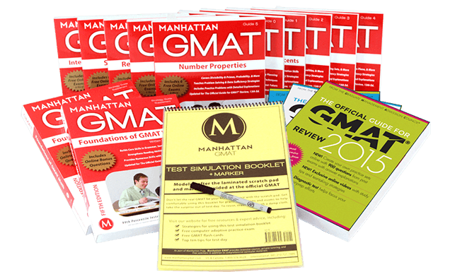 Manhattan GMAT Complete Prep Set, 5th Edition with OG 13th Edition and OG Supplement 2nd Editions