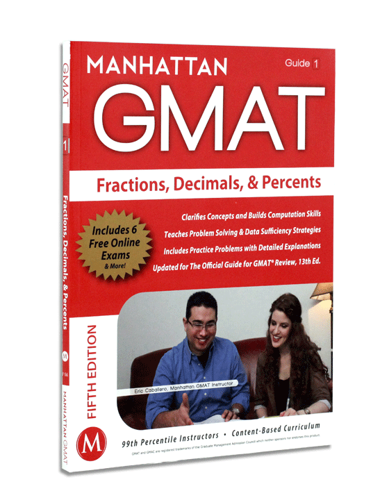 Fractions Decimals & Percents Strategy Guide, Fifth Edition