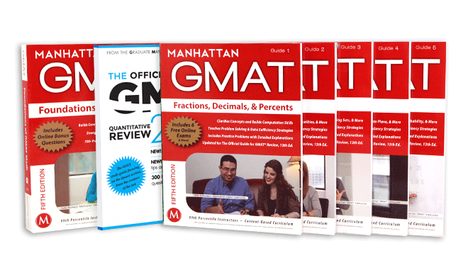 Manhatan GMAT Quantitative Prep Set with OG Math Supplement 2nd Edition