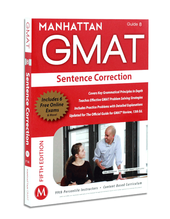 Sentence Correction Strategy Guide, Fifth Edition