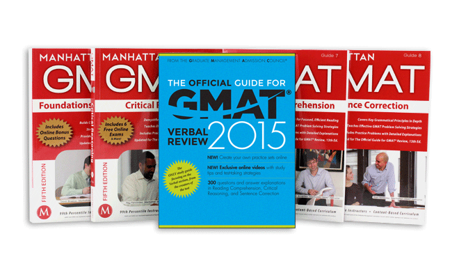 Manhattan GMAT Verbal Prep Set with OG Verbal Supplement 2nd Edition