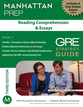 3rd Ed. - Reading Comprehension GRE Strategy Guide