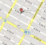 NYC Manhattan GRE Office Map