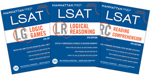 3 Manhattan LSAT Books | LSAT Reading Comprehension, LSAT Logic Games & LSAT Logical Reasoning LSAT Prep Books
